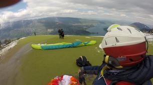 Paragliding-Annecy-Tandem paragliding flight over Annecy Lake-3