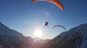 Paragliding-Les Gets, Portes du Soleil-Baptême de parapente aux Gets, Portes du soleil-2