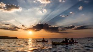 Canoë-kayak-Cannes-Location kayak de mer sur les îles du Lérins, près de Cannes-2
