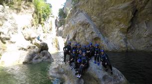 Canyoning-Omis-Basic canyon of Cetina River, Omiš-7