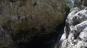 Canyoning-Omis-Extreme canyon of Cetina River, Omiš-2