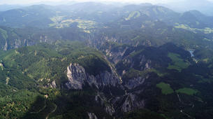 Helicopter tours-St. Pölten-Helicopter scenic flight over Danube and Alpine mountains, from St. Pölten-7