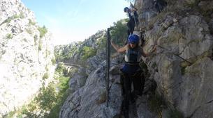 Canyoning-Omis-Basic canyon of Cetina River, Omiš-6