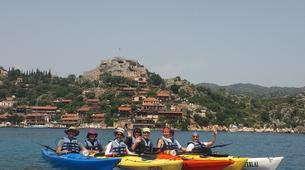 Kayak de mer-Kas-Sea Kayaking Tour of Kekova Sound-5
