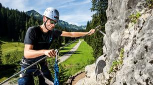 Via Ferrata-Kleinwalsertal-Beginner's Via Ferrata course in the Allgäu Alps-1