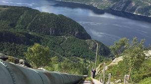 Hiking / Trekking-Stavanger-Flørli 4444 Hike in Lysefjorden-4