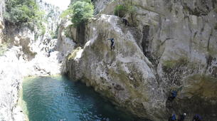 Canyoning-Omis-Extreme canyon of Cetina River, Omiš-1