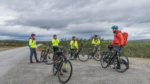 Mountain bike-Alta-E-Bike Excursion in Alta Canyon-2