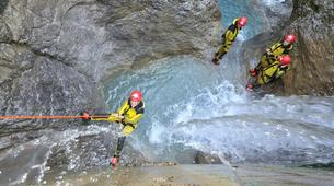 Canyoning-Ötztal-Canyoning the Hachle Gorge in the Ötztal, near Innsbruck-3