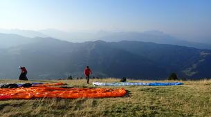 Paragliding-Les Gets, Portes du Soleil-Baptême de parapente aux Gets, Portes du soleil-3
