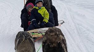 Snowshoeing-Luleå-Snowshoe & Dog Sled Adventure in Swedish Lapland-4