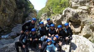 Canyoning-Omis-Basic canyon of Cetina River, Omiš-3