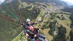 Paragliding-Les Gets, Portes du Soleil-Baptême de parapente aux Gets, Portes du soleil-5