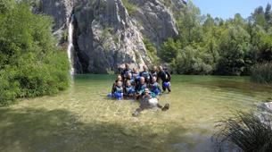 Canyoning-Omis-Basic canyon of Cetina River, Omiš-1