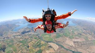 Skydiving-Wanaka-Tandem skydive over Wanaka-1
