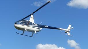 Helicoptère-Dijon-Baptême de l'air en hélicoptère à Beaune, Bourgogne-7
