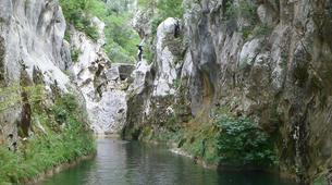 Canyoning-Omis-Extreme canyon of Cetina River, Omiš-7