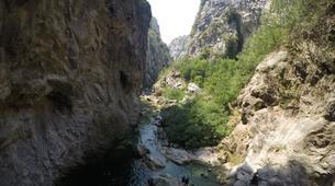 Canyoning-Omis-Basic canyon of Cetina River, Omiš-8