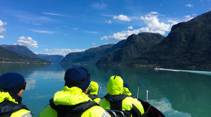 Jet Boat-Skjolden-Jet Boat & Hike to Feigumfossen waterfall-4
