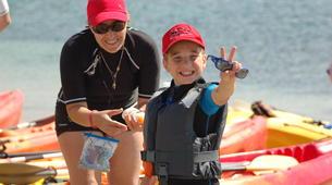Canoë-kayak-Cannes-Location kayak de mer sur les îles du Lérins, près de Cannes-9