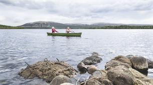 Kayaking-Pyha-Canoeing on the Pyhäjoki River in Pyha-6