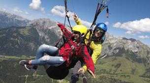 Paragliding-Salzburg-Classic tandem paragliding flight from Bischling, Werfenweng-1
