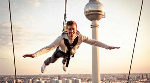 Bungee Jumping-Berlin-Sky Jump at the Alexanderplatz, Berlin center-1