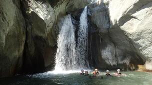 Canyoning-Serre Chevalier-Canyon de Caprie (Italie) au depart de Briançon, Serre Chevalier-2