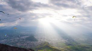 Parapente-Salzbourg-Baptême Parapente Classique du Mont Gaisberg, Salzbourg-1