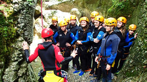 Canyoning-Bled-Jereka Canyon near Bled-1