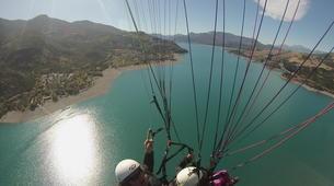 Paragliding-Lake Serre Ponçon-Introduction to paragliding at Lac de Serre-Ponçon, France-6