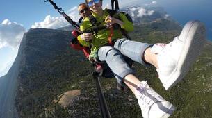 Paragliding-Ölüdeniz-Tandem Paragliding Flight over the Blue Lagoon in Oludeniz-1