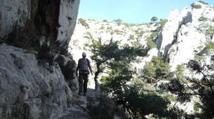 Rock climbing-Calanques-Via Cordata at En Vau in the Calanques National Park, Marseille-5