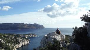 Rock climbing-Calanques-Via Cordata at En Vau in the Calanques National Park, Marseille-1