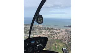 Helicoptère-Biarritz-Baptême de l'air en hélicoptère à Biarritz, Pays Basque-6