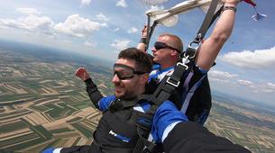 Skydiving-Cakovec-Tandem skydiving in Čakovec, Croatia-8