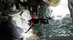 Canyoning-Serre Chevalier-Canyon de Caprie (Italie) au depart de Briançon, Serre Chevalier-4