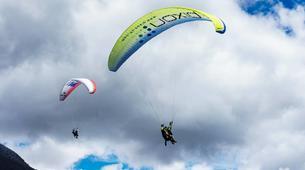 Paragliding-Brig-Glis-Summer Tandem Paragliding in Brig-Glis-5