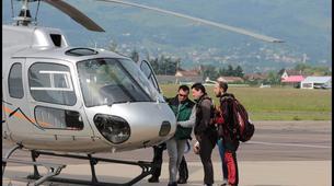 Parachutisme-Dijon-Saut en parachute tandem depuis un hélicoptère à Chalon-sur-Saône, Bourgogne-2