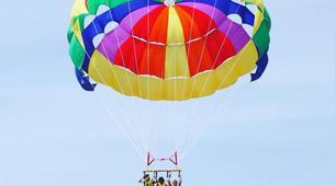 Parasailing-Heraklion-Parasailing flight in Ammoudara, Heraklion-1