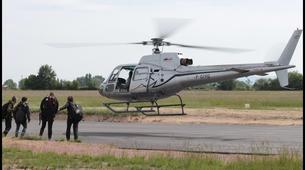 Parachutisme-Dijon-Saut en parachute tandem depuis un hélicoptère à Chalon-sur-Saône, Bourgogne-1