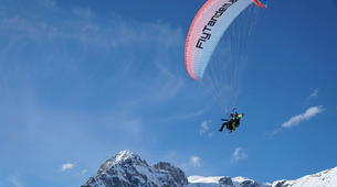 Paragliding-Salzburg-Classic tandem paragliding flight from Bischling, Werfenweng-5