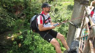 Canyoning-Black Forest-Canyoning tour with tree tent Overnight in the Black Forest-8