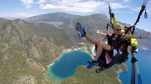 Paragliding-Ölüdeniz-Tandem Paragliding Flight over the Blue Lagoon in Oludeniz-2