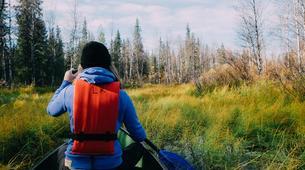 Kayaking-Pyha-Canoeing on the Pyhäjoki River in Pyha-3