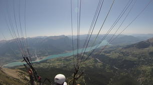 Paragliding-Lake Serre Ponçon-Introduction to paragliding at Lac de Serre-Ponçon, France-1