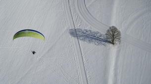 Paragliding-Salzburg-Classic tandem paragliding flight from Bischling, Werfenweng-4