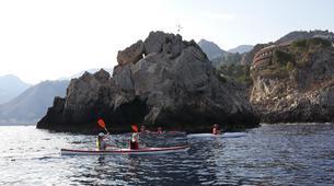 Kayak de mer-Taormine-Sea Kayaking Tour of Isola Bella in Taormina-4