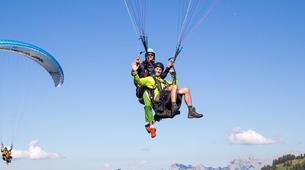 Paragliding-Salzburg-Classic tandem paragliding flight from Bischling, Werfenweng-3