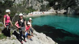Rock climbing-Calanques-Via Cordata at En Vau in the Calanques National Park, Marseille-6